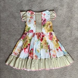 Olive Mae flower dress size 3